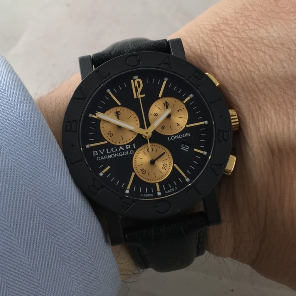 c4050788bef Bulgari Limited Edition Carbongold London Chronograph - Aicher Watches