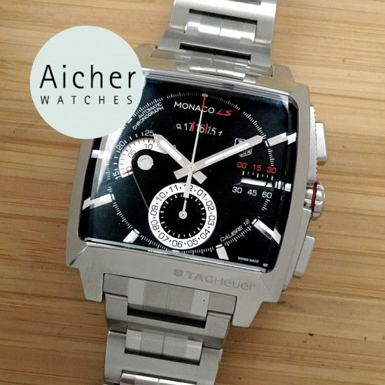 587f0a86594 Tag Heuer Monaco LS calibre 12 Automatic Chronograph - Aicher Watches