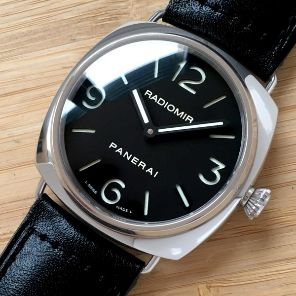 Panerai Radiomir 2012 Base Pam 210 Manual Unitas Aicher Watches